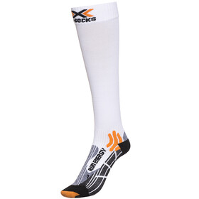 X-Socks Run Energizer Long - Calcetines Running - blanco